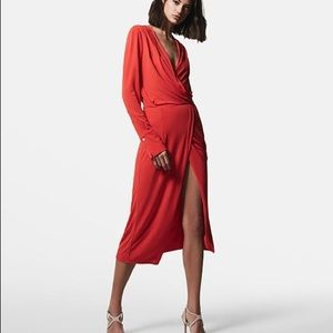 Reiss wrap dress NWOT!!!